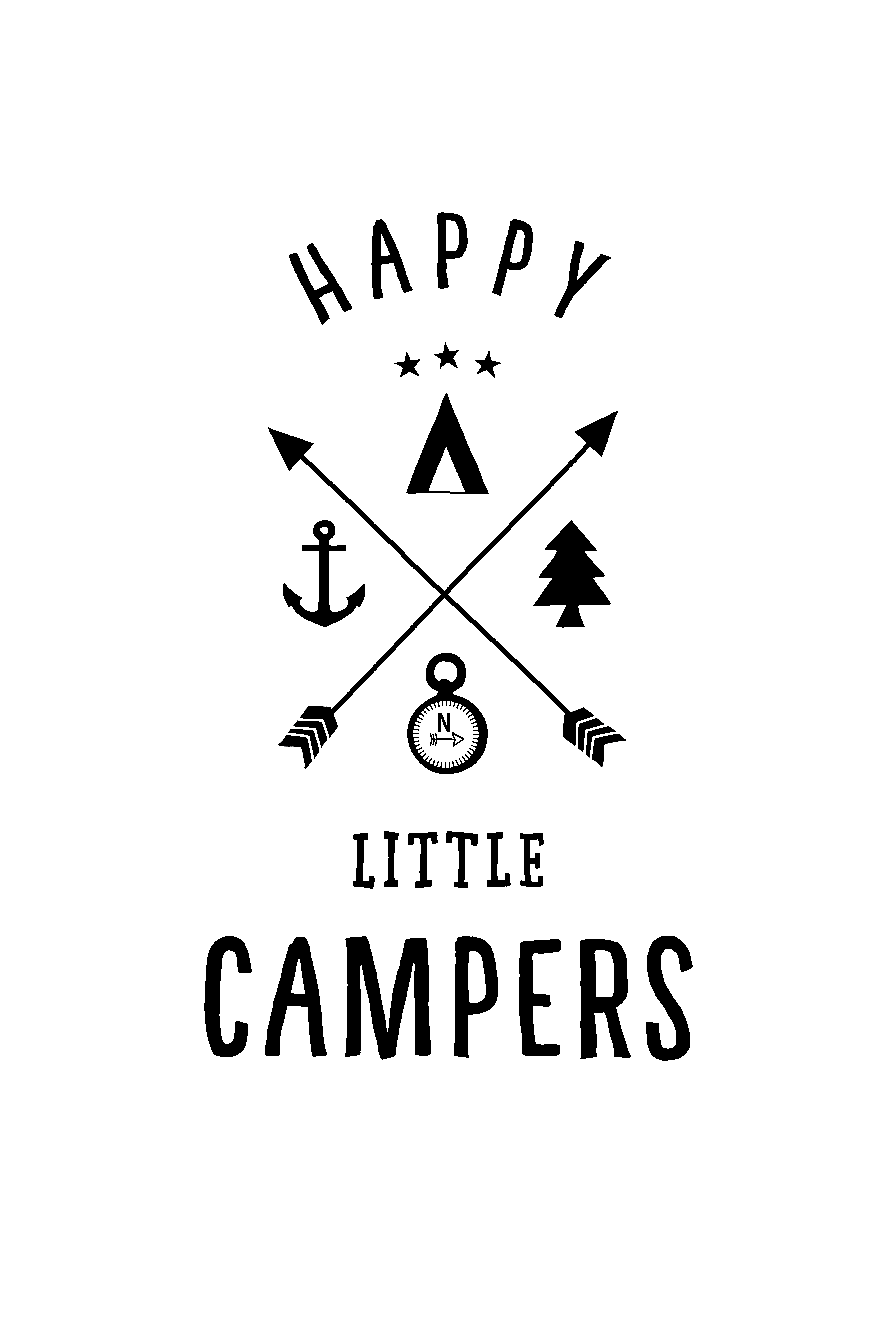 Happy Little Campers Poster High Rez PNG