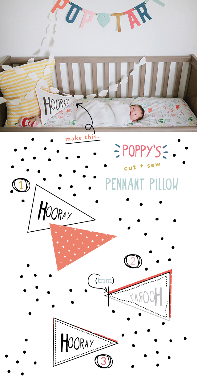 make-hooray-pennant-pillow 2