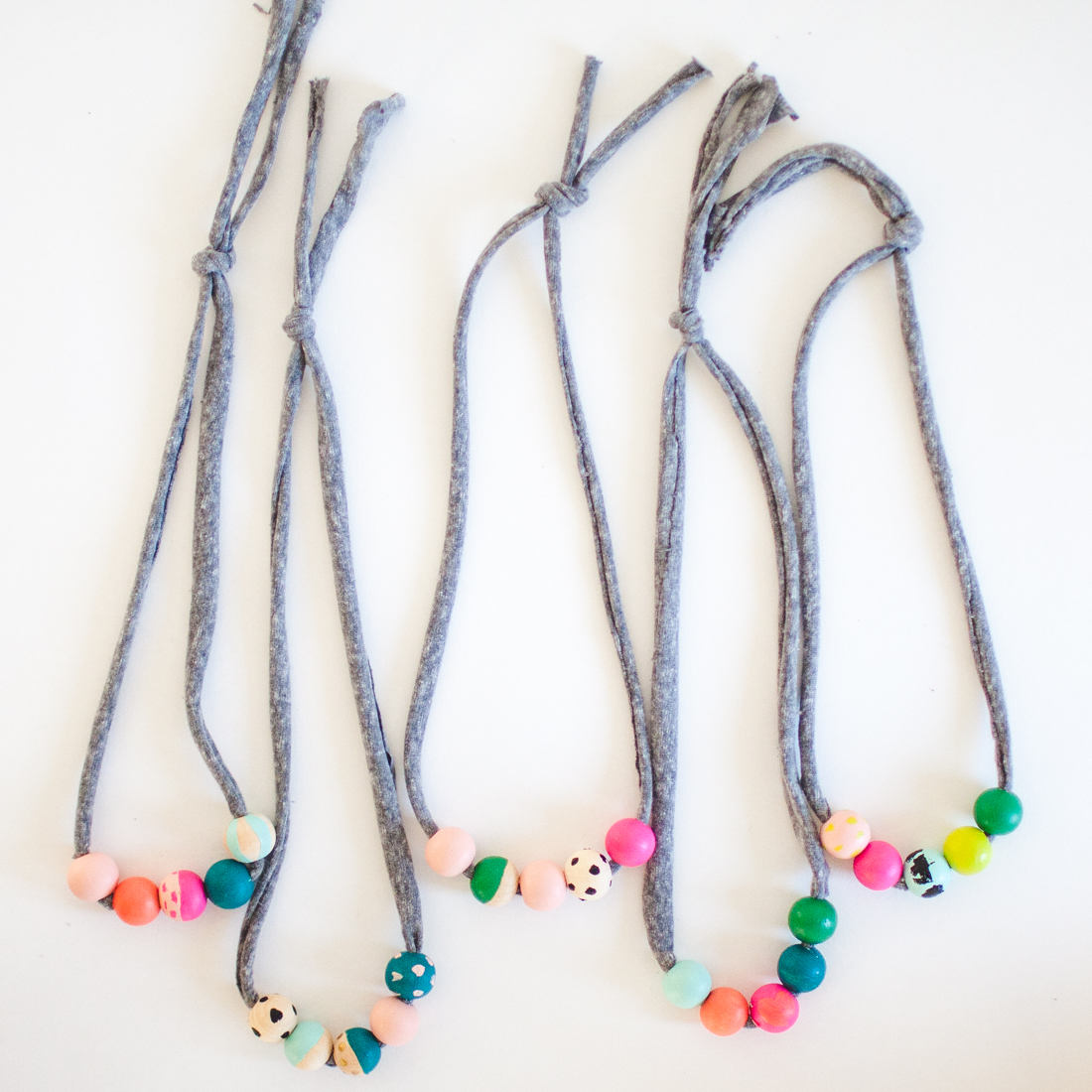 rainbow shop kid necklace