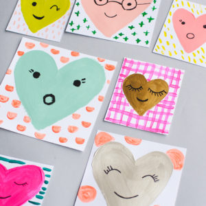 rae ann kelly simple painted hearts-7376