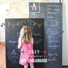 diy chalkboard grande