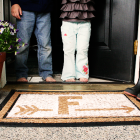 painted doormat DIY