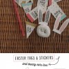 free easter tags and stickers