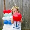 4th of july balloon dart board