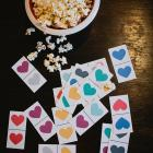printable (heart day) dominos for the kids.
