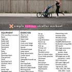 Summertime Stroller Workout