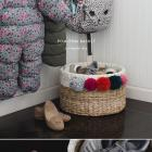 EASY POM-POM BASKET DIY