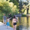 SUNDAY AT GREEN LAKE, SEATTLE