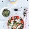 HEALTHY EATS: MY ALMOST FAMOUS ARUGULA + PESTO SALAD