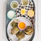 MARCH DINNERS + ARTICHOKES