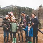 PHOTOS + A VIDEO FROM THE REINDEER FARM IN LEAVENWORTH