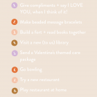 february checklist (+ a printable)