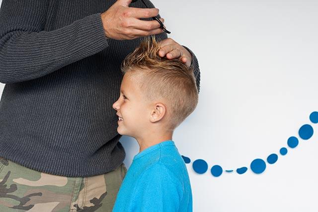Little Boy Haircut Diy