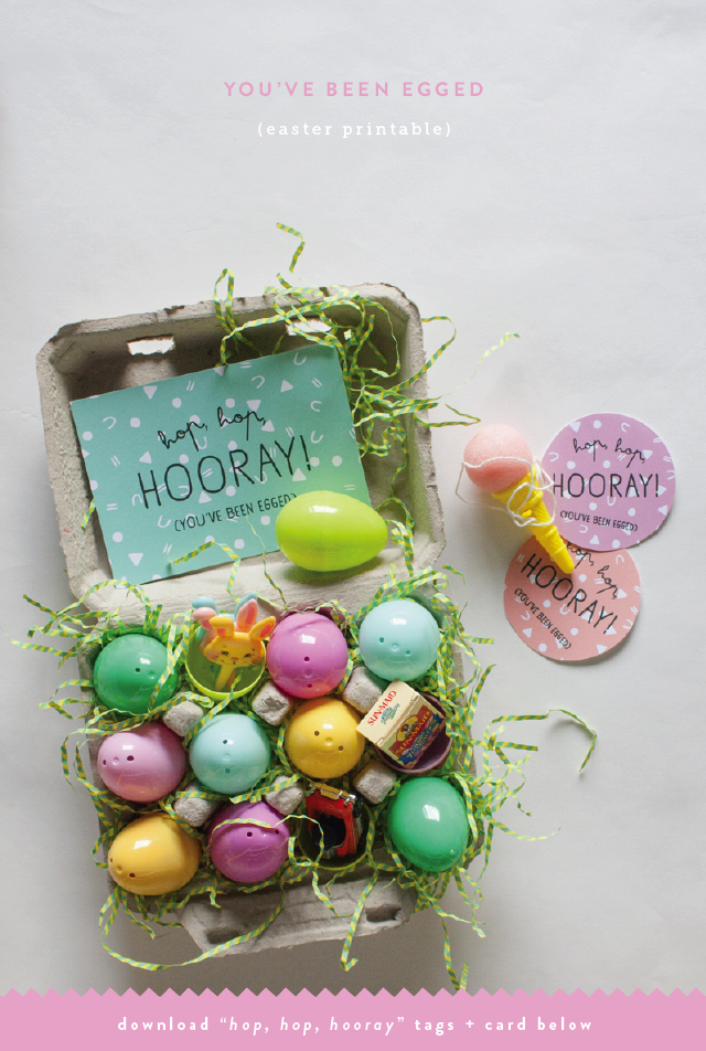 graphic relating to You've Been Egged Printable named YOUVE BEEN EGGED (EASTER FREEBIE)