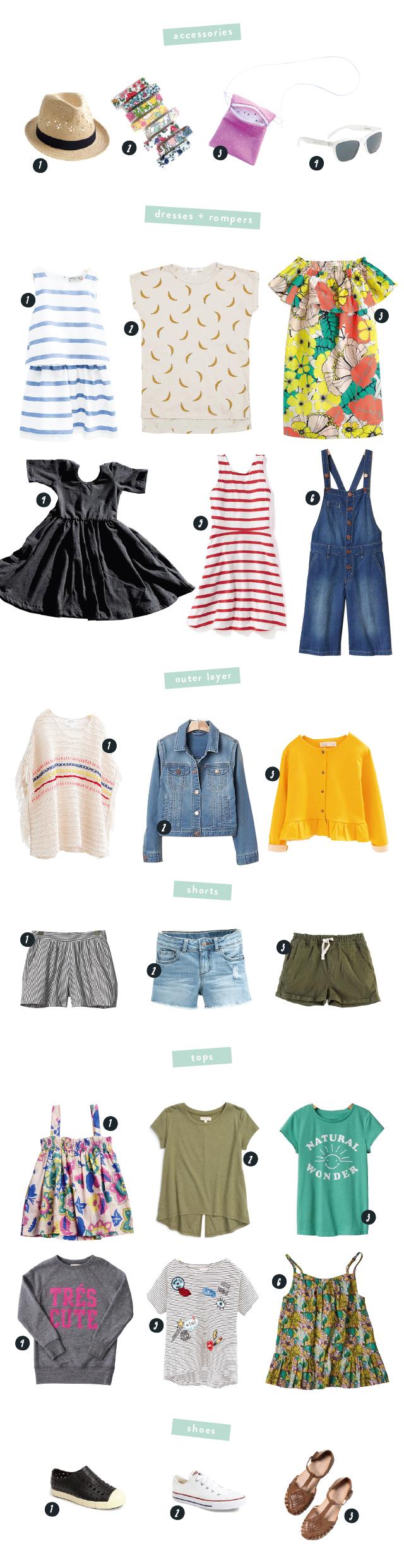 warm-weather-girl's-wardrobe