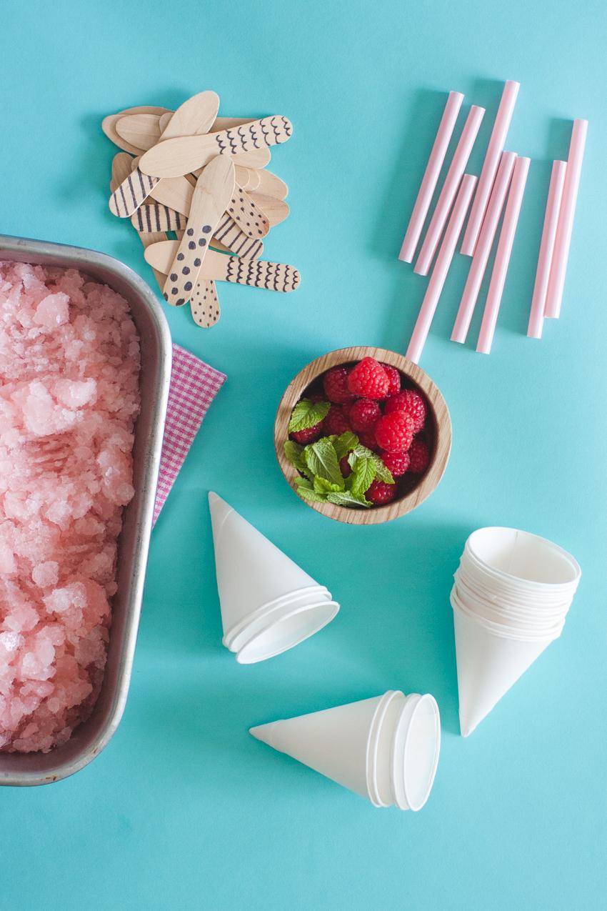 simple snow cone granita recipe