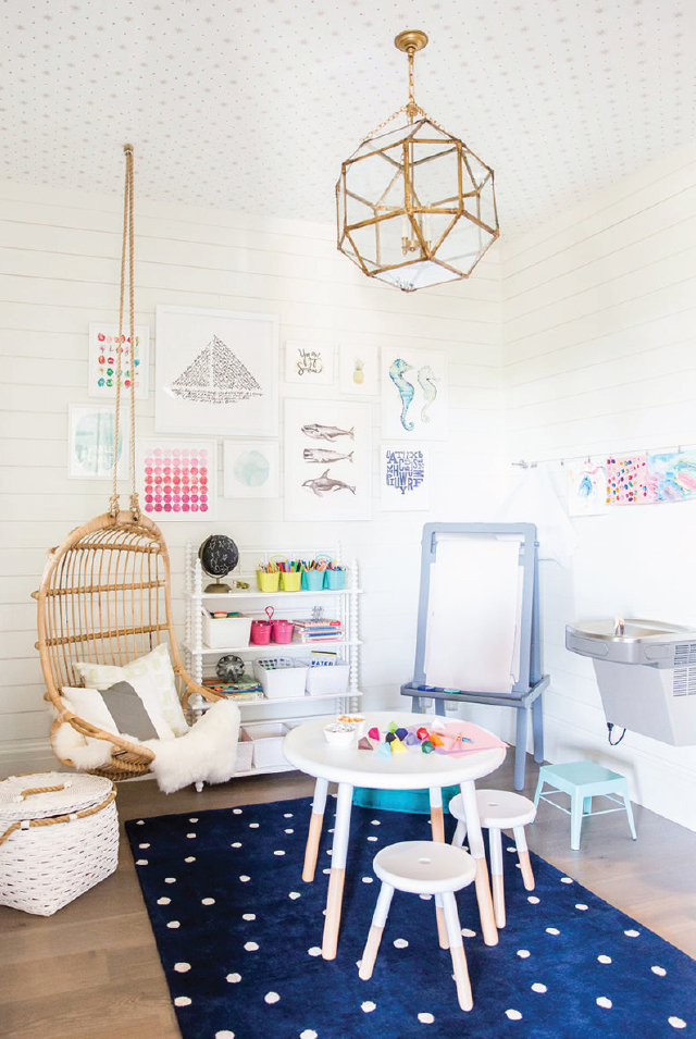 Shared Spaces Home Office Playroom Ideas